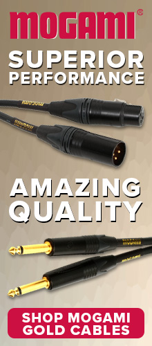 Mogami Gold Cables at Pacific Radio Electronics