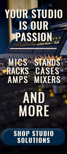 Studio Solutions Products at Pacific Radio Electronics