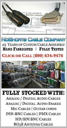 NoShorts Cable Company - A Division of Pacific Radio Electronics